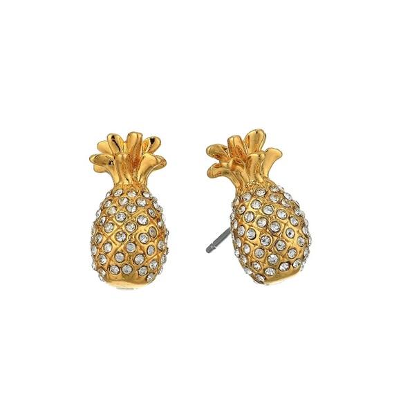 d96e941c9dc83 KATE SPADE • By The Pool Pineapple Earrings